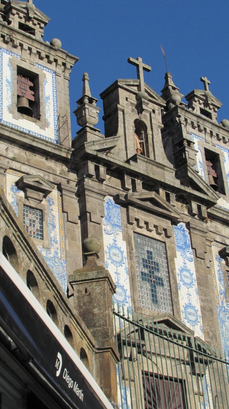 Igreja Sto. Ildefonso , Praça da Batalha- Porto