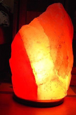 Himalayan salt lamp, Himalayan and Himalayan salt on Pinterest