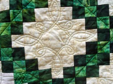 Thanks for the positive response to my method for creating a Celtic quilting design. If my ideas inspire you to create a design of your own, please send me pictures. One of the comments mentioned …