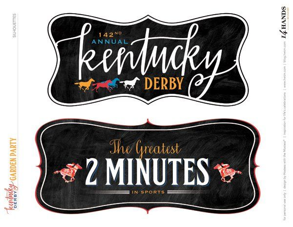 FREE+Kentucky+Derby®+Party+Printables+–+Garden+Party+{Updated+for+2016}