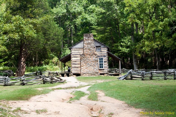 Side view of John Oliver cabin...I like!