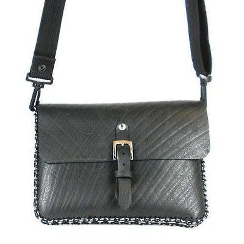 Tire and Soda Pull Shoulder Bag Handmade and Fair Trade