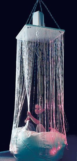 Fiber Optic Waterfall | Bubble Tubes | e-Special Needs