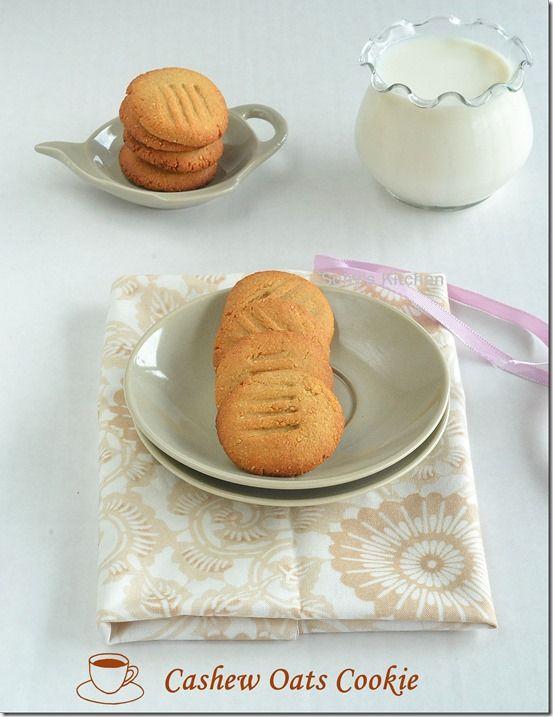 Cashew Oats Cookie