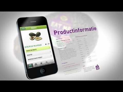 De eerste Nederlandse AGF App voor Consumer Interaction 2x2 Veggiepedia Meer info www.frugicom.nl / facebility