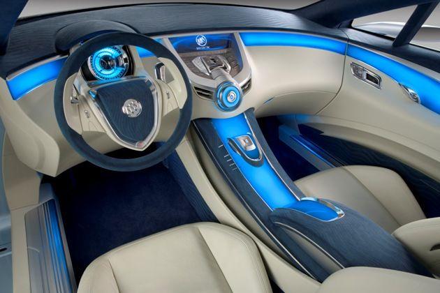 Buick interior design