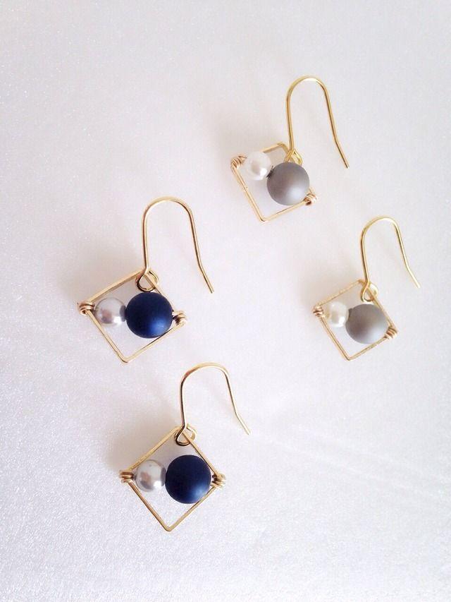 Simple yet elegant looking earrings