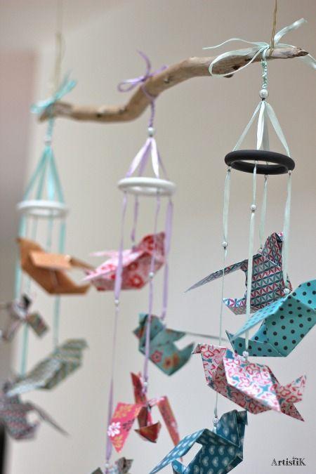 1000 id es sur le th me mobiles d 39 origami sur pinterest grues en origami mobiles et origami. Black Bedroom Furniture Sets. Home Design Ideas