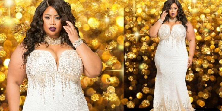 Looking for a great plus size evening dress for the holiday season? Check out the latest lookbook from LA-based plus size boutique, Chic & Curvy!