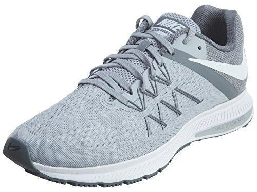 Nike Zoom Winflo 3 Wolf Grey/White/Cool Grey/White Men's Running Shoes