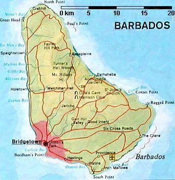 barbados pirate history | Notorious Pirate Havens - Barbados