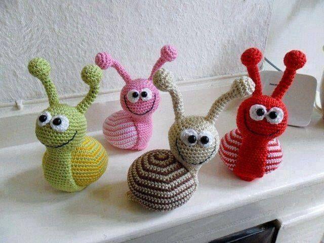 Adorable snails