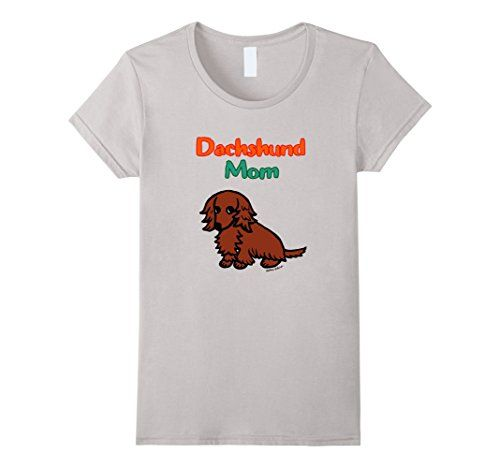Cute Red Long Haired #Dachshund Mom #Tshirt #Doxie https://www.amazon.com/dp/B072QHXPR1/ref=cm_sw_r_pi_dp_x_aQepzb667VNSH