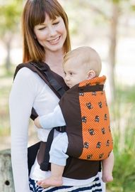 Beco Butterfly 2 Organic Baby Carrier in Owl Happy