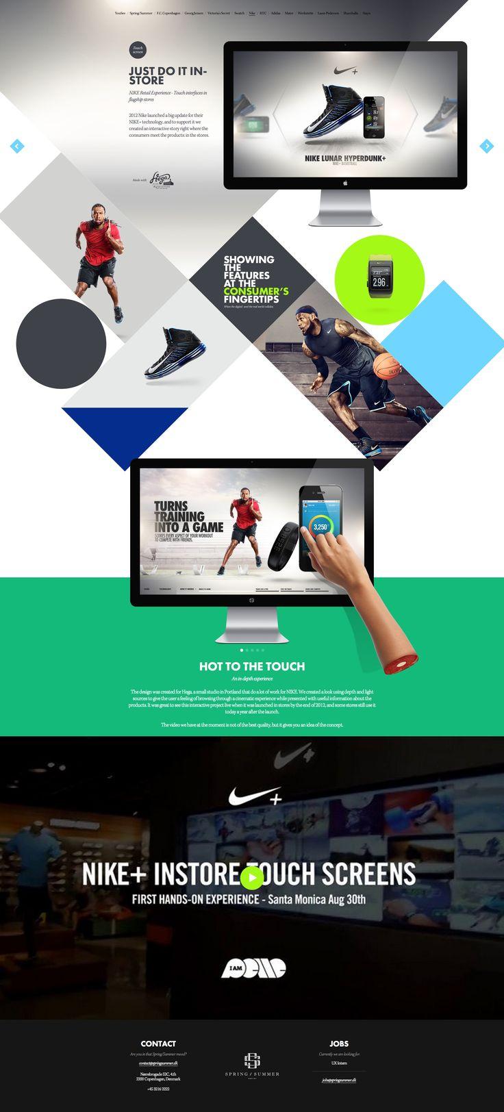 Nike+ e-retail - Spring/Summer case - www.springsummer.dk