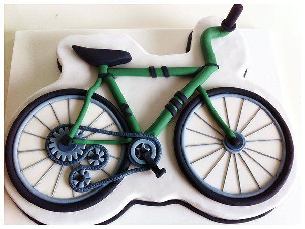 """On Your Bike"" cake"
