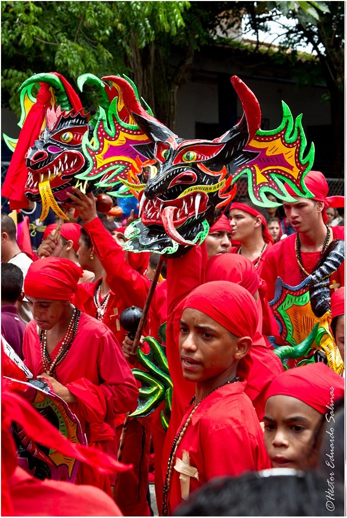 Venezuela's Dancing Devils of Corpus Christi ~ added to UNESCO's List of the Intangible Cultural Heritage of Humanity in 2012.