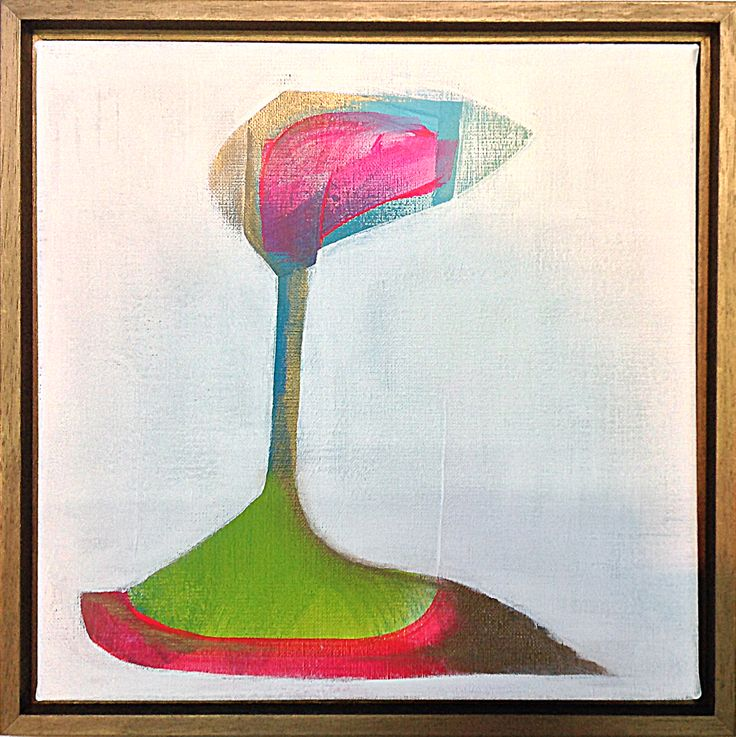 'Cappadocië', 30 x 30 cm, acryl op doek, 250,00 euro
