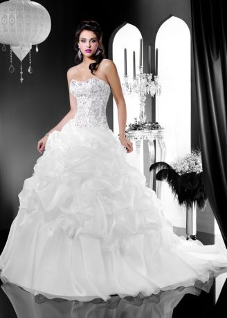 Robe de Mariée Morelle Mariage Lille Vente en ligne : Robe de Mariée Kelly Star - KS146-13