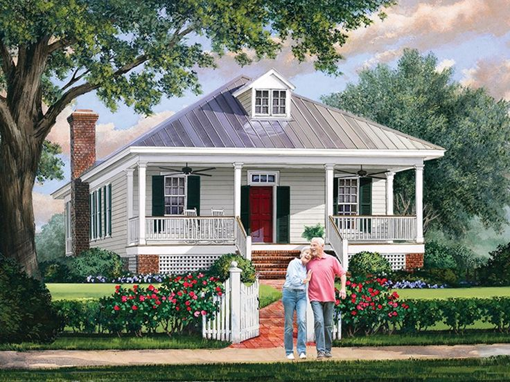 Low country home plan with 1749 square feet and 3 bedrooms for Low country farmhouse plans