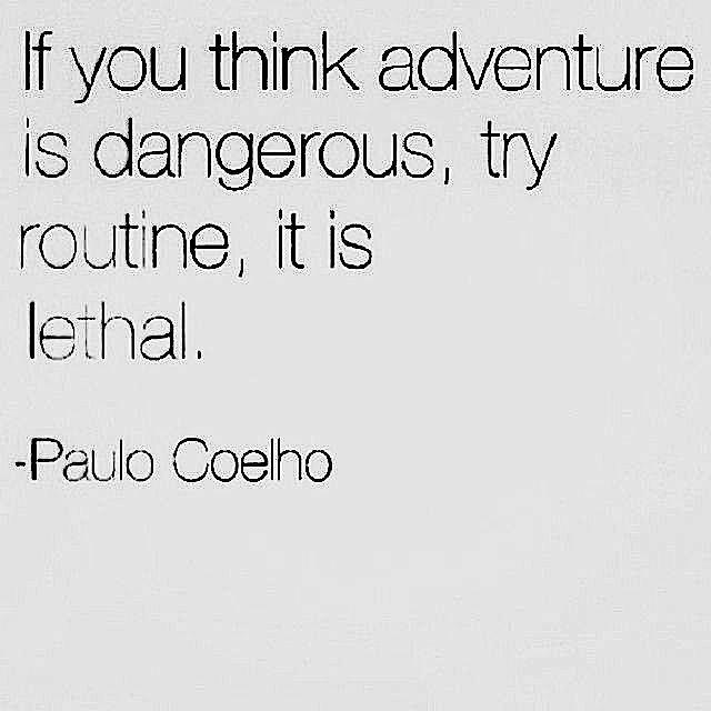 Routine will kill you
