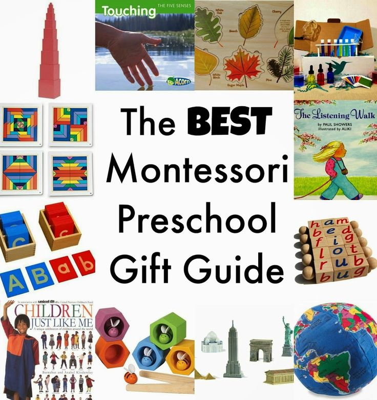 Best Montessori Preschool Gift Guide - Natural Beach Living