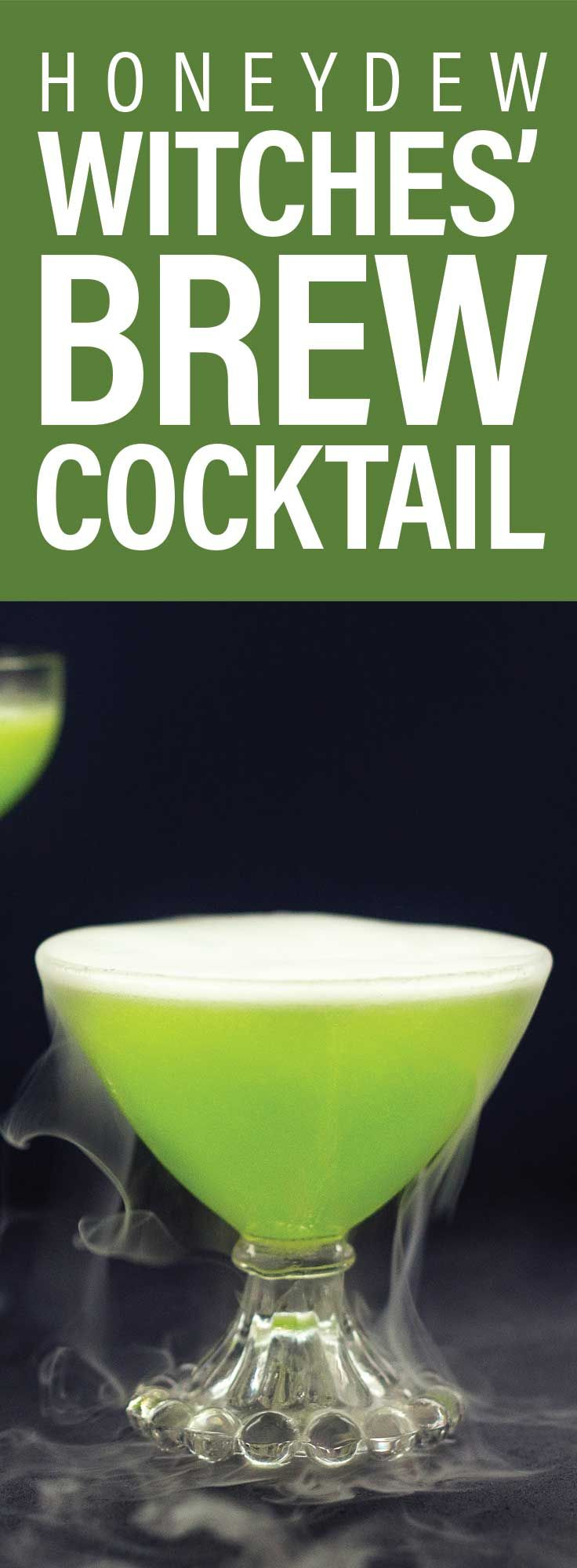How to Make a Honeydew Witches' Brew Cocktail (Video)