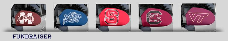 Shop car mirror cover, college football fan gear and school sox at reasonable price on Tailgate Sox. Bring on the school rivalries and flash your team logo with pride! Tailgate Sox: like a jersey for your car. Do you want to more advice about of our services, you can click at http://www.tailgatesox.com/products/category/50.html