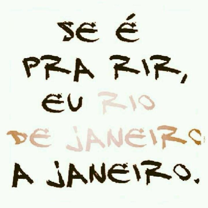 Feliz aniversário Rio ..