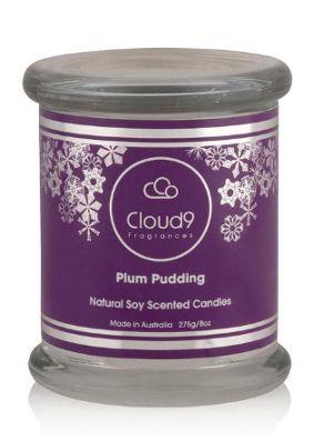 Cloud Nine Christmas Plum Pudding Candle