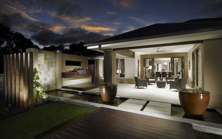 Plastered roof outdoor room, downlights and fan & tiles