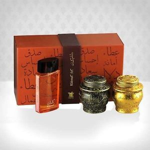 Kalemat Set Perfume And Incense By Arabian Oud