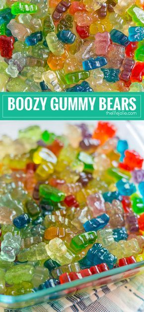 This is an easy recipe for how to make Boozy Gummy Bears. They are super simple to make and are the perfect addition to any adult party. These are made with Whipped Cream Flavored Vodka, but you can use any alcohol that you'd like.