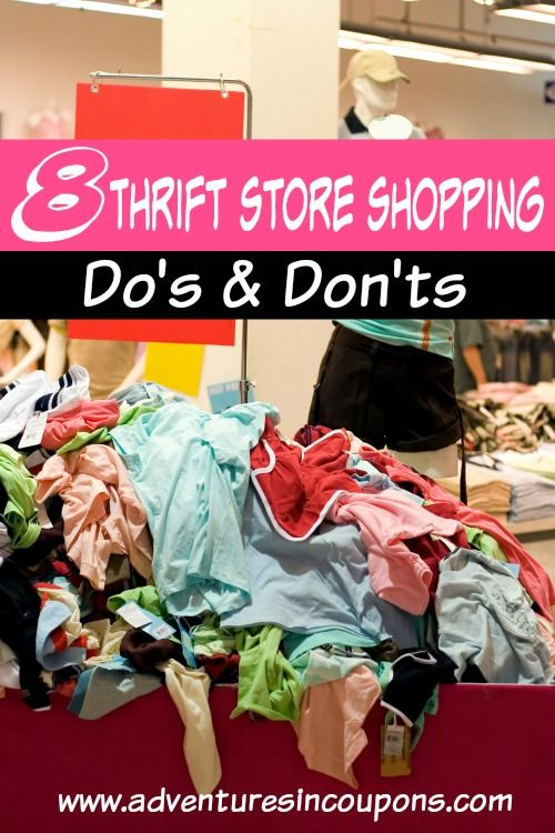 Are you a thrift store shopping afficianado? I am! I love getting a great deal! If you need a little help in the secondhand department, these 8 thrift store shopping do's & don'ts are just what you need!