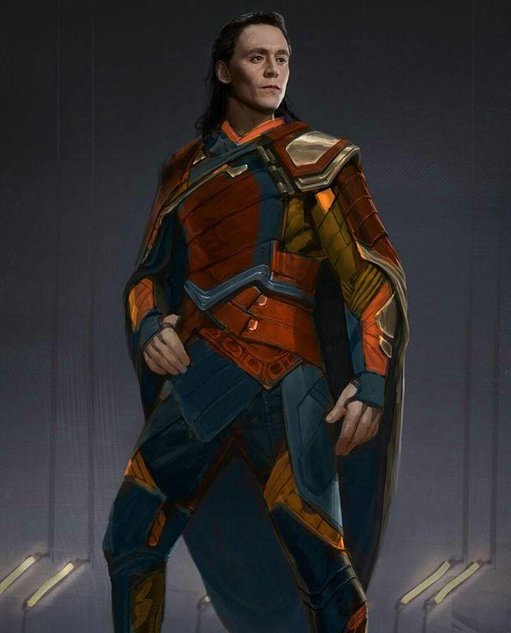 original plan for loki's clothing for thor ragnarok