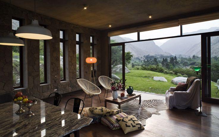 Diseño casa de campo tradicional   Construye Hogar