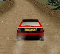 Super raliu cu masini de curse