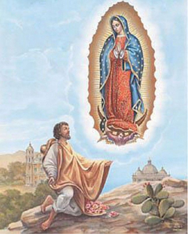 Today, December 12th, we commemorate the Feast Day of Our Lady of Guadalupe. A story about this Feast Day can be found by clicking here>: http://media.wix.com/ugd/a84285_db40a26c06af4e66bf43eb1477a4cfc7.pdf