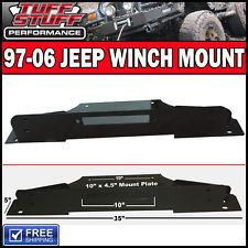 """Tuff Stuff 97-06 Jeep TJ Winch Mount & Hardware for All Bumpers 3/16"""" Thick"""