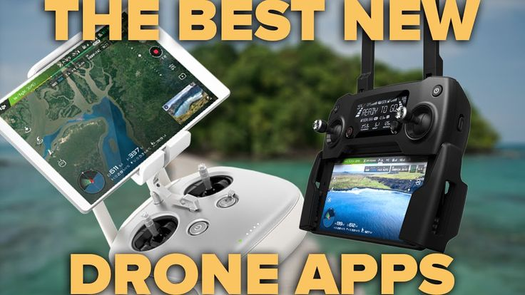 THE 5 BEST DRONE APPS - NEW LIST! - YouTube