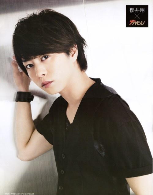 Handsome in black…