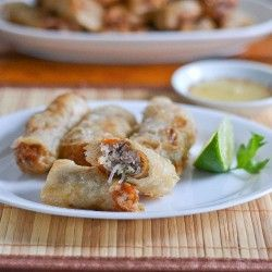 Vietnamese Spring Rolls. Love these things! Gonna have to try these, see if i can impress my sister-in-law.