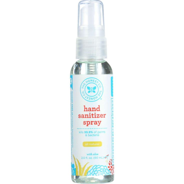 The Honest Company Hand Sanitizer - Spray - Orange - 2 Oz - 1 Each