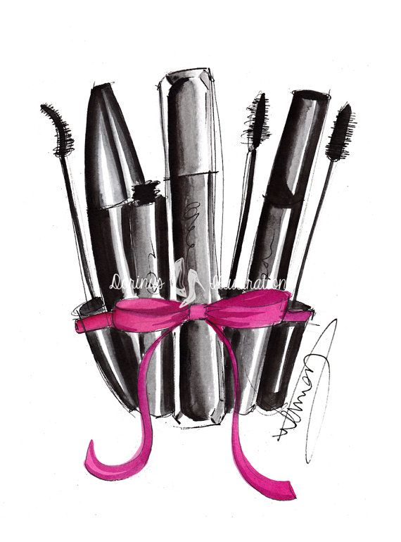Makeup Drawing: 17 Best Ideas About Makeup Drawing On Pinterest