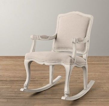 French Vintage Rocker - traditional - Rocking Chairs And Gliders ...