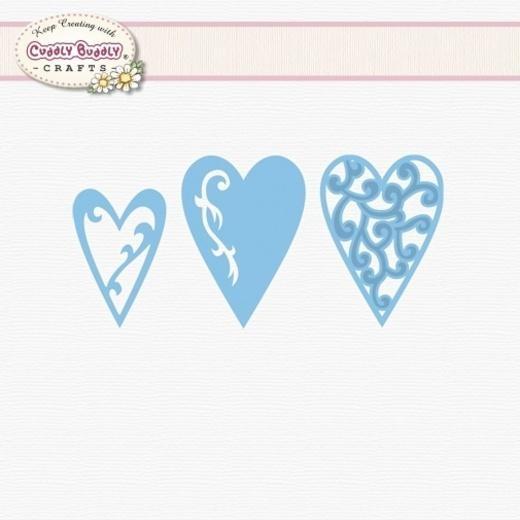Marianne Design Creatables Dies - Decorative Hearts LR0159 - 31,00Lt