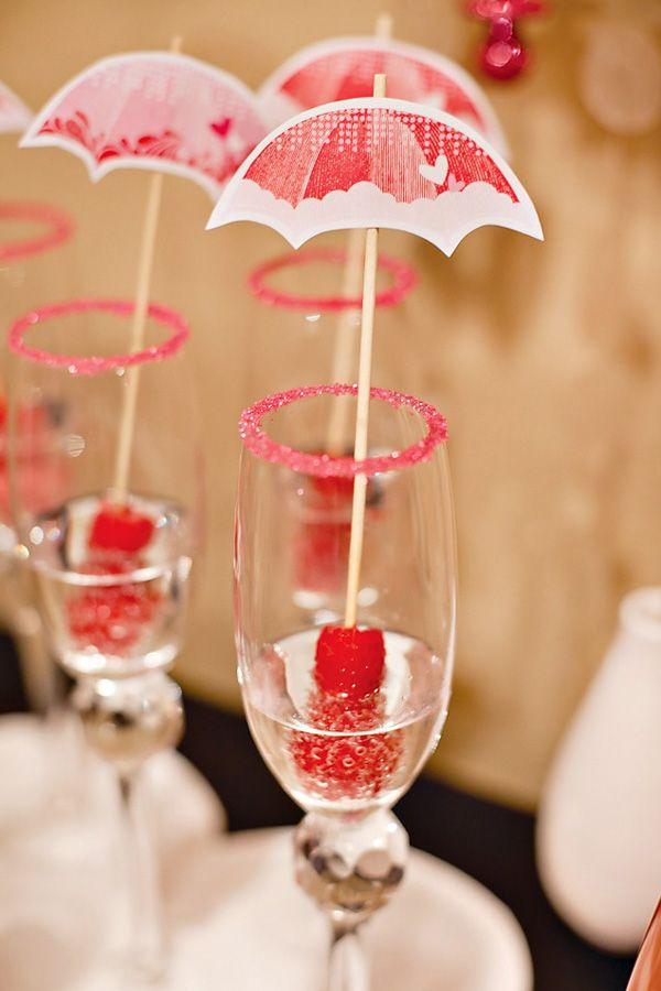 Fun little umbrella drinks