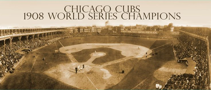 XXL 1908 World Series Champions Canvas