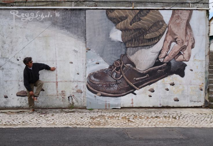 "by Regg Salgado | ""The pebble in the shoe"" at Bairro Padre Cruz, 2016  Good times, great people."