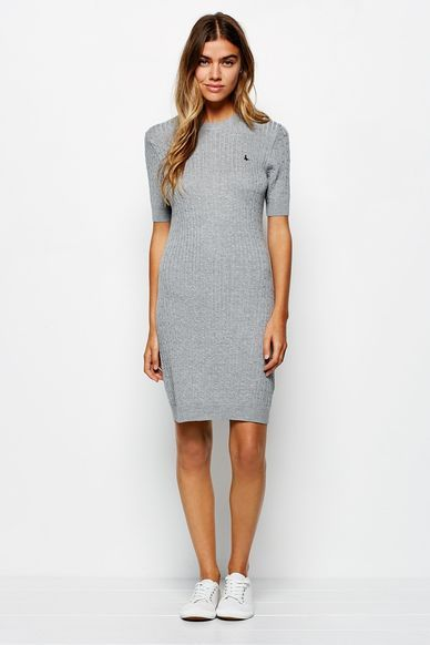 KILMAURY CABLE KNITTED DRESSKILMAURY CABLE KNITTED DRESS